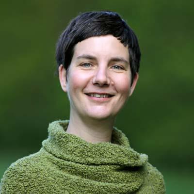 Ilona Koglin organisiert zusammen mit anderen die Konferenz für eine bessere Welt