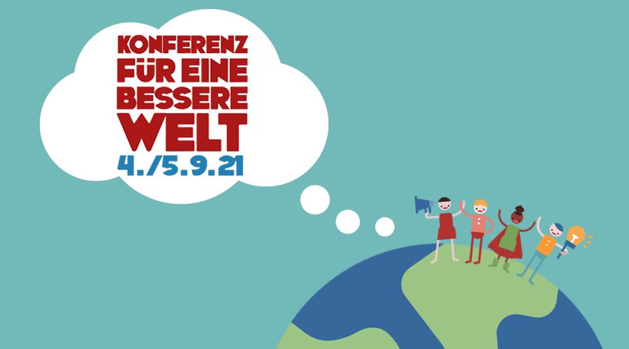 Konferenz für eine bessere Welt - Cover 2021