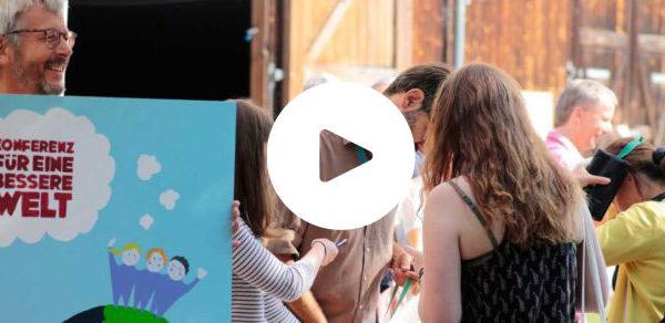Video: Konferenz für eine bessere Welt 2018