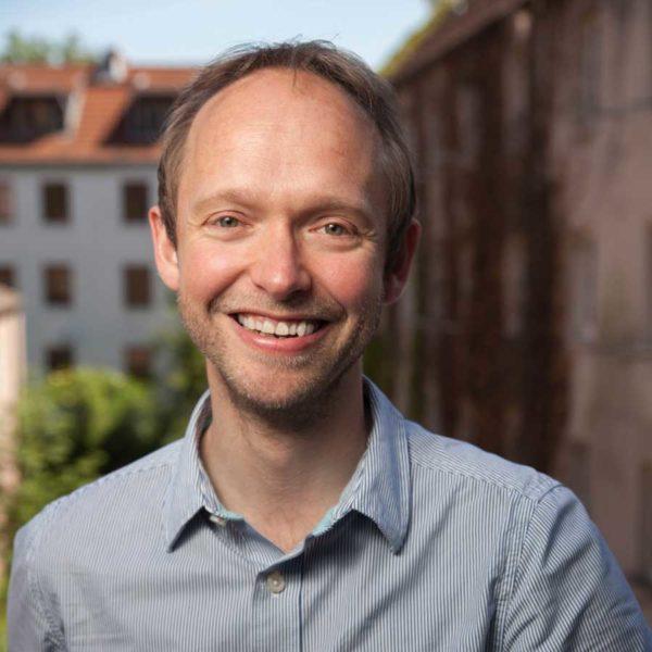 Portrait: Markus Wittwer bei der Konferenz für eine bessere Welt